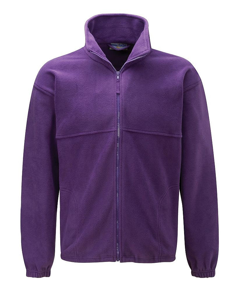 The Hollies School Purple Fleece