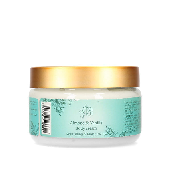 Bayt Al Saboun-Almond & Vanilla Body Cream 300G Online UAE | BEAUTY ON WHEELS