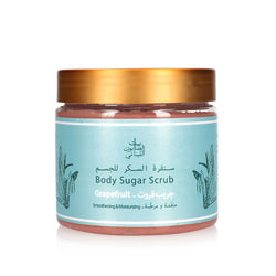 Bayt Al Saboun-Body Sugar Scrub Grapefruit 500G Online UAE | BEAUTY ON WHEELS