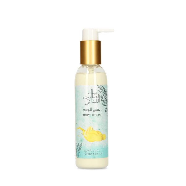 Body Lotion Ginger & Lemon 150Ml