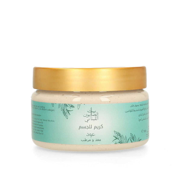 Bayt Al Saboun-Body Cream Oud 300G Online UAE | BEAUTY ON WHEELS