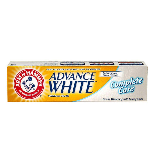 Advanced White Complete Care Toothpaste-ARM & HAMMER-UAE-BEAUTY ON WHEELS
