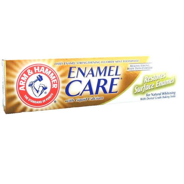 Enamel Care Natural Whitening Toothpaste 115g-ARM & HAMMER-UAE-BEAUTY ON WHEELS