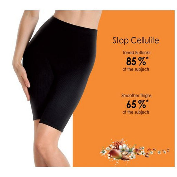 Anti Cellulite Micro Massaging Short Black S/M-Lytess-UAE-BEAUTY ON WHEELS