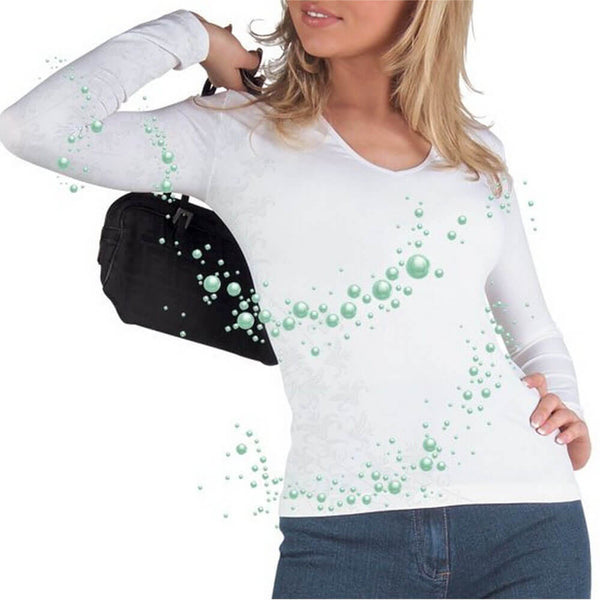 Top Micro Long Sleeve S/M White-Lytess-UAE-BEAUTY ON WHEELS