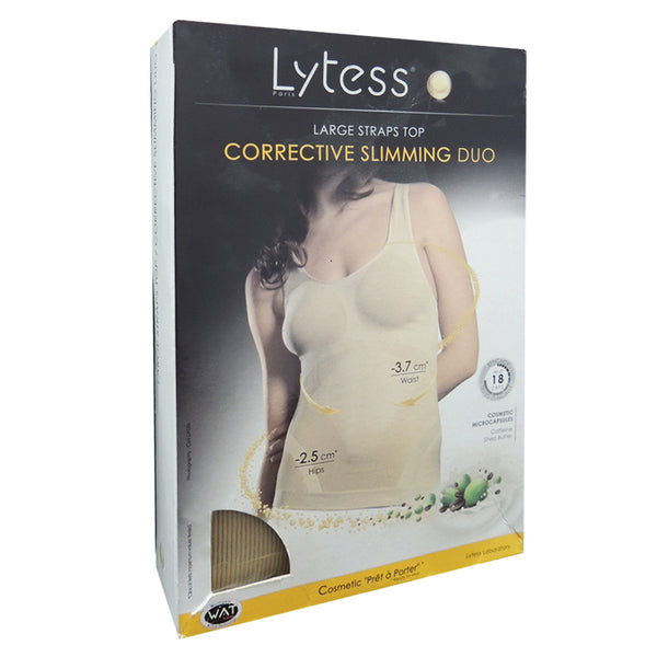 Large Straps Top Flesh Xxl-Fitness-Lytess-BEAUTY ON WHEELS-UAE-Dubai-Abudhabi-KSA-الامارات