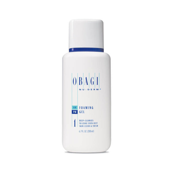 Nu-Derm Foaming Gel-Obagi-UAE-BEAUTY ON WHEELS