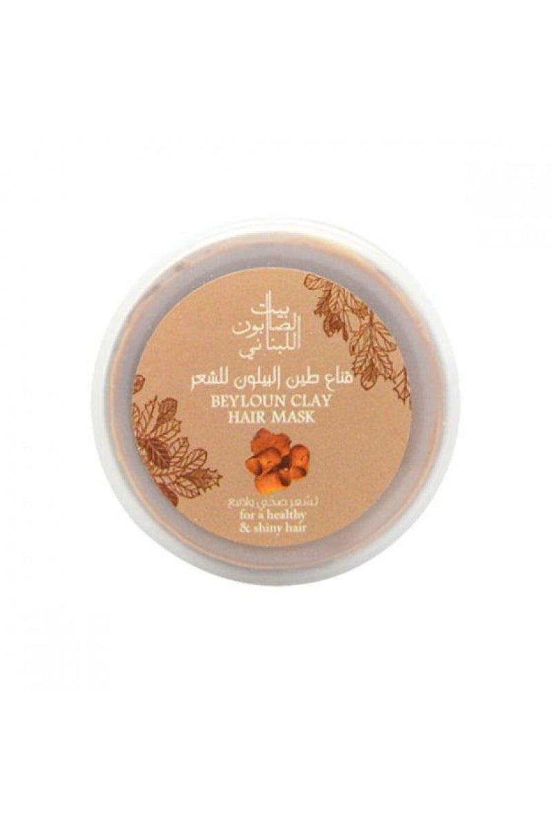 Bayt Al Saboun-Beyloun Clay Hair Mask 200G Online UAE | BEAUTY ON WHEELS