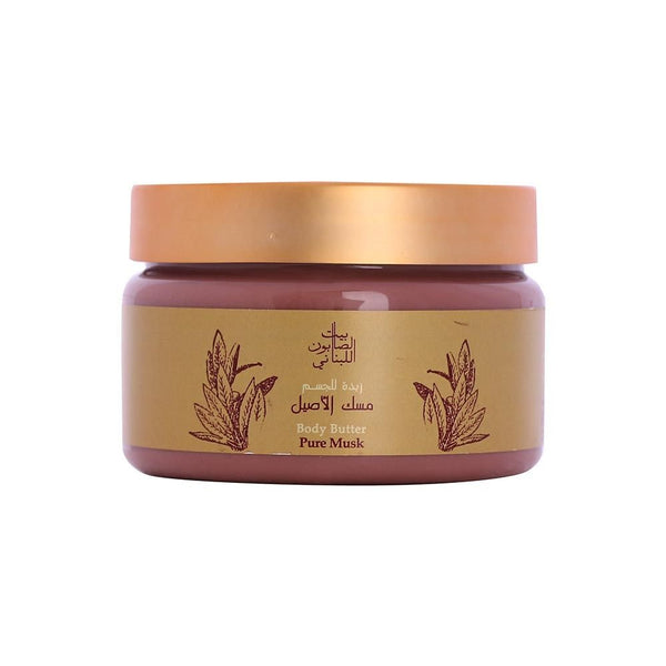 Bayt Al Saboun-Body Butter Pure Musk 300G Online UAE | BEAUTY ON WHEELS