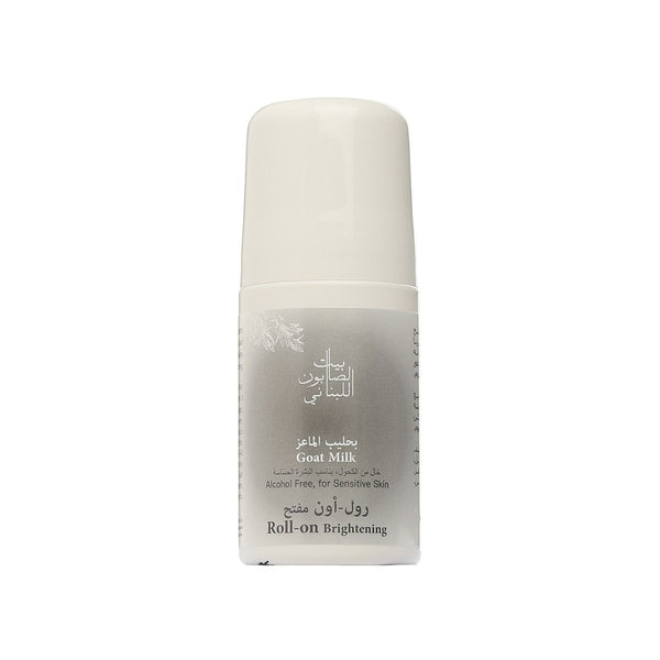 Brightening Goat Milk Roll On 50 ml-Bayt Al Saboun-UAE-BEAUTY ON WHEELS
