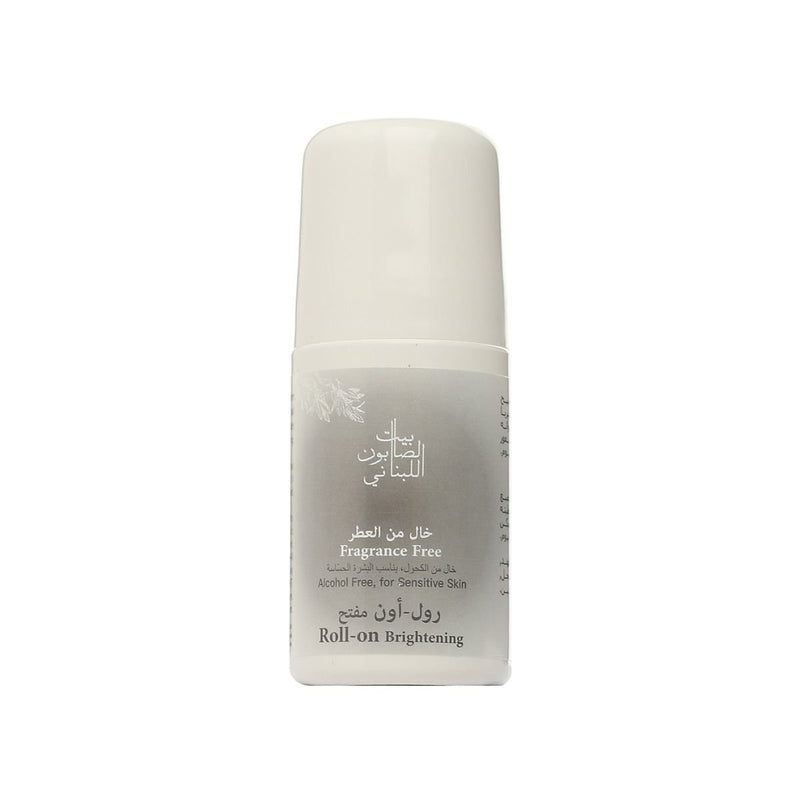 Bayt Al Saboun-Brightening Roll On Fragrance Free - 50Ml Online UAE | BEAUTY ON WHEELS