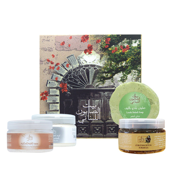 Bayt Al Saboun-Curcuma & Alum Whitening Set-BEAUTY ON WHEELS