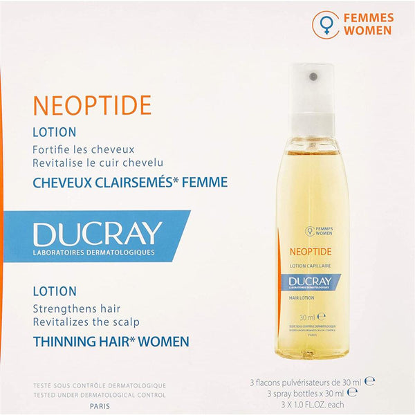 Neoptide Lotion Spray For Women 3X30 Ml