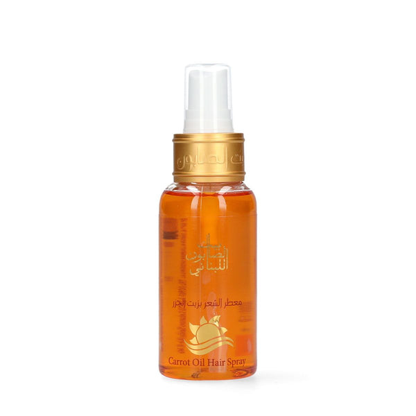 Carrot Oil Hair Spray 80 ml-Bayt Al Saboun-UAE-BEAUTY ON WHEELS