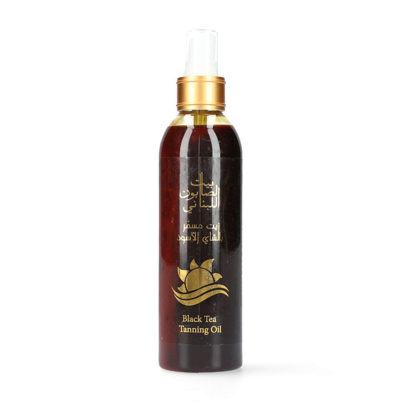 Bayt Al Saboun-Black Tea Tanning Oil - 250Ml Online UAE | BEAUTY ON WHEELS