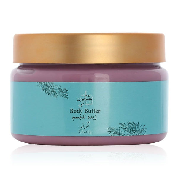 Bayt Al Saboun-Cherry Body Butter 300G Online UAE | BEAUTY ON WHEELS