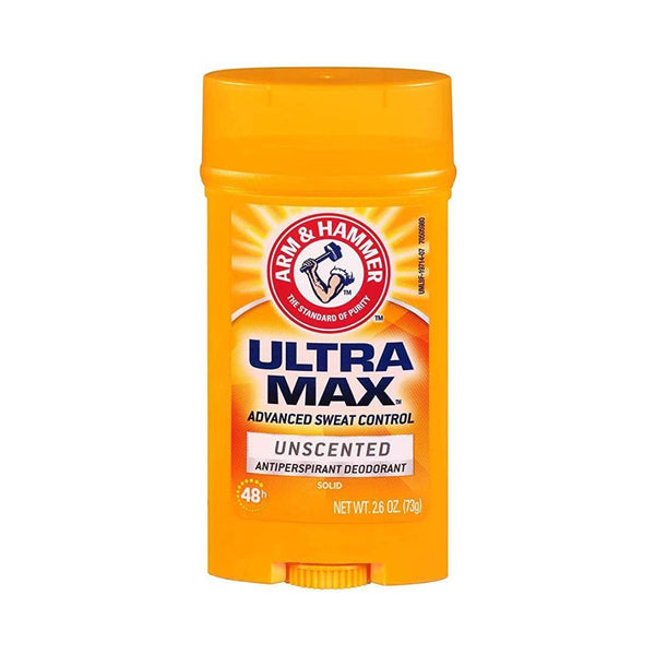 ULTRAMAX Solid Antiperspirant Deodorant Unscented 73g