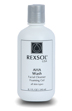 Aha Wash Facial Cleanser Foaming Gel 240 Ml - BeautyOnWheels