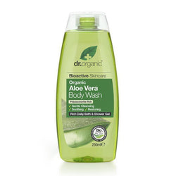 Aloe Vera Body Wash 250Ml-Dr Organic-UAE-BEAUTY ON WHEELS