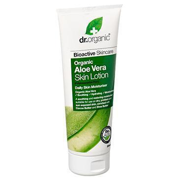 Aloe Vera Skin Lotion 200Ml-Dr Organic-UAE-BEAUTY ON WHEELS