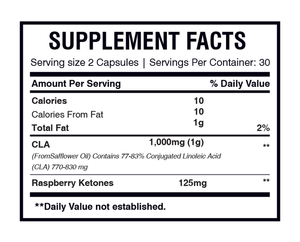 AMS CLA Raspberry Ketone-AMS-UAE-BEAUTY ON WHEELS