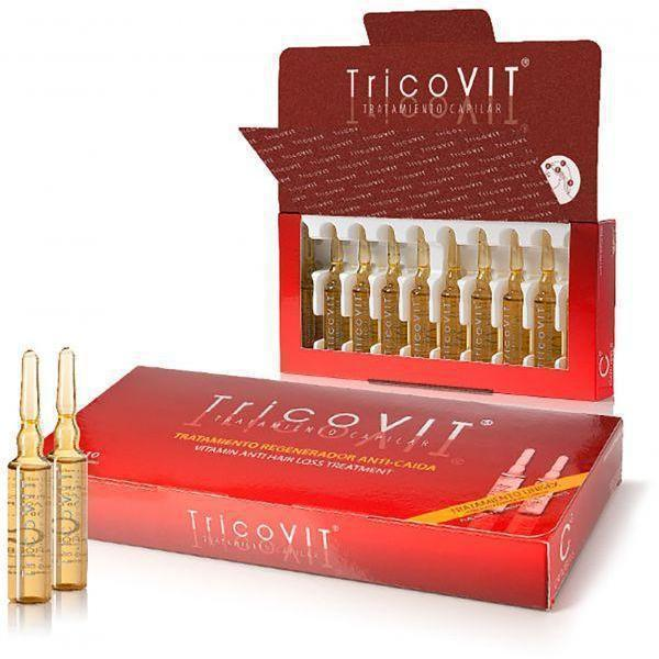 Anti Hair Loss Treatment 10X10Ml Vials-TricoVIT-UAE-BEAUTY ON WHEELS