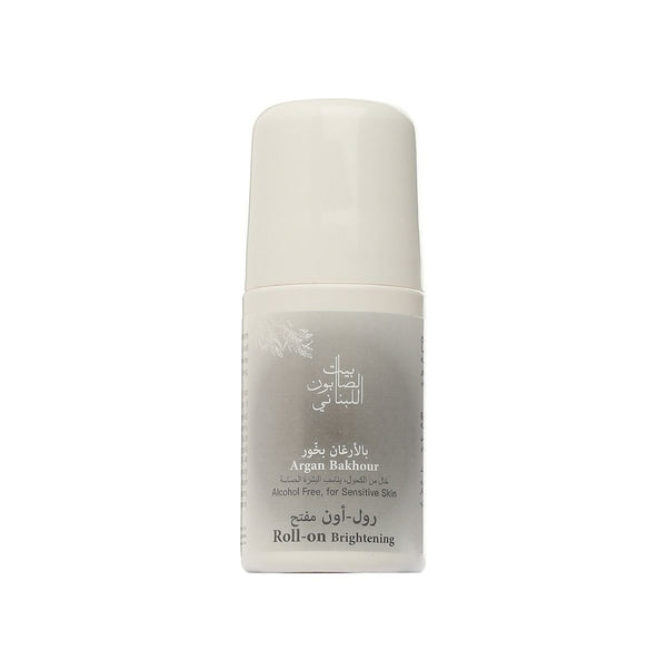 Brightening Argan Roll On Bakhour 50ml-Bayt Al Saboun-UAE-BEAUTY ON WHEELS