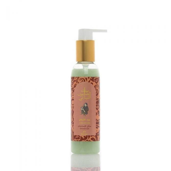 Argan Oil Shower Gel Bakhour 150Ml-Bayt Al Saboun-UAE-BEAUTY ON WHEELS