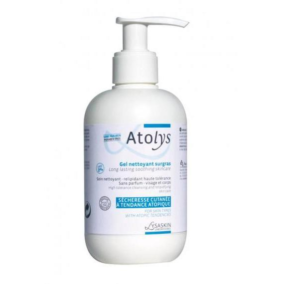 Atolys Cleansing Gel Pump  200Ml-Lysaskin-UAE-BEAUTY ON WHEELS