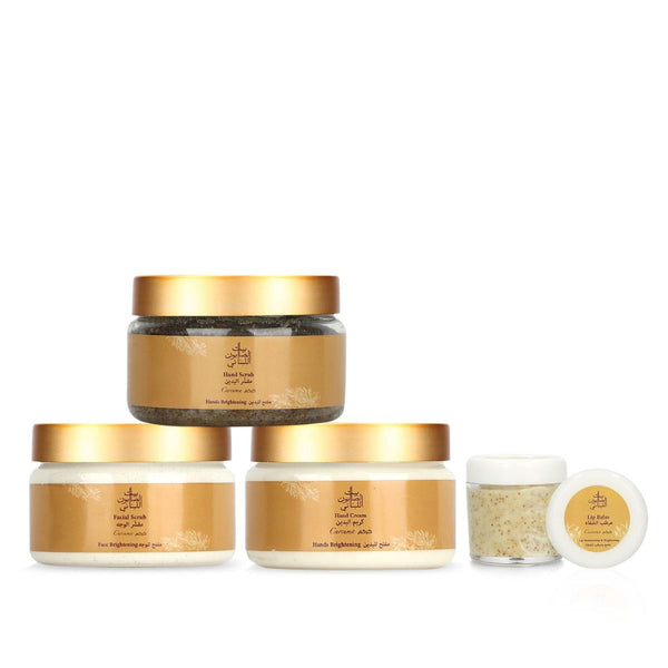 Bayt Al Saboun-Curcuma Royal Set Online UAE | BEAUTY ON WHEELS