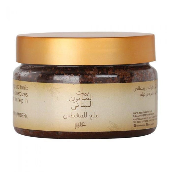 Bayt Al Saboun-Amber Bath Salt 300G Online UAE | BEAUTY ON WHEELS
