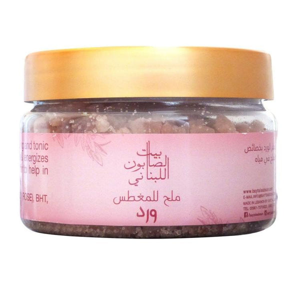 Bath Salt Rose 300G - BeautyOnWheels