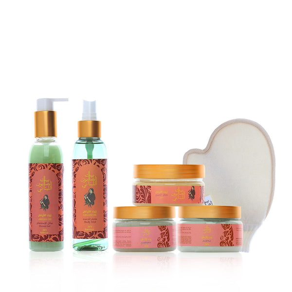 Bayt Al Saboun-Bakhour Line Travel Kit-BEAUTY ON WHEELS
