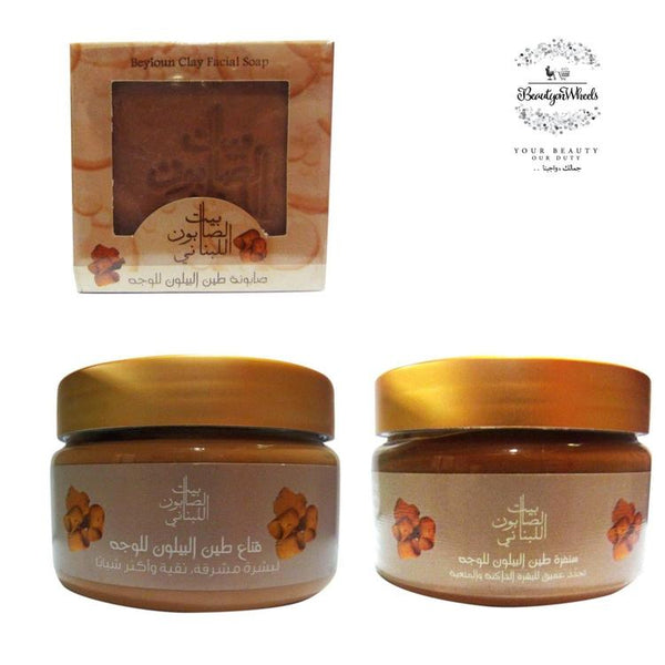 Bayt Al Saboun Beyloun Facial Trio-Bayt Al Saboun-UAE-BEAUTY ON WHEELS