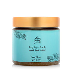 Bayt Al Saboun-Body Sugar Scrub Floral Ginger 500G Online UAE | BEAUTY ON WHEELS