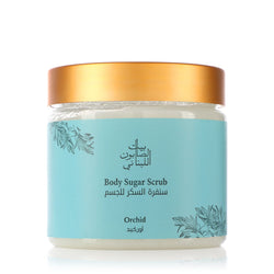 Bayt Al Saboun-Body Sugar Scrub Orchid 500G-BEAUTY ON WHEELS