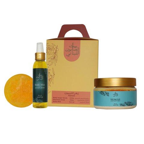 Bayt Al Saboun-Neroli Kit-BEAUTY ON WHEELS