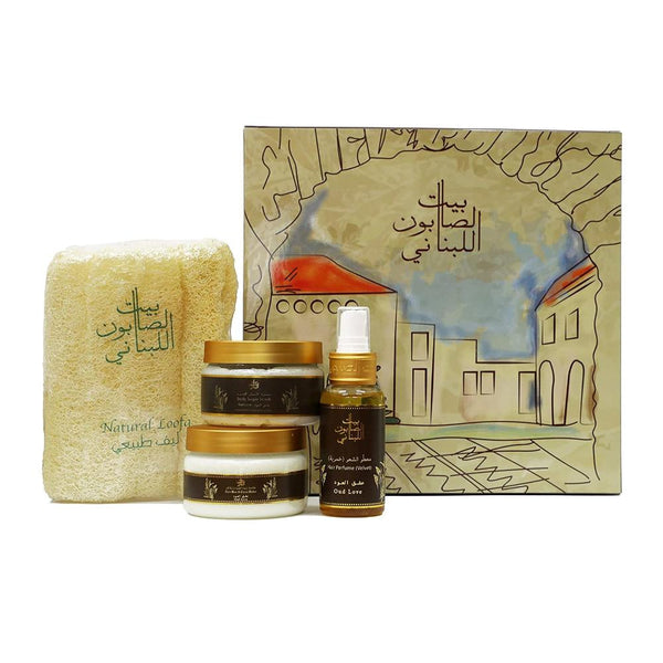Bayt Al Saboun-Oud Love Kit-BEAUTY ON WHEELS