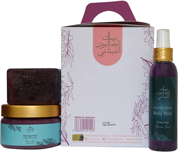 Bayt Al Saboun-Passion Fruit Kit-BEAUTY ON WHEELS