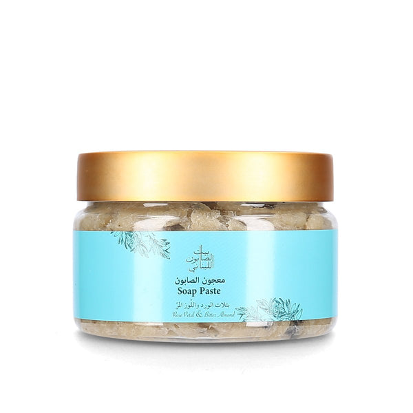 Bayt Al Saboun-Soap Paste Rose Petal and Bitter Almond-BEAUTY ON WHEELS