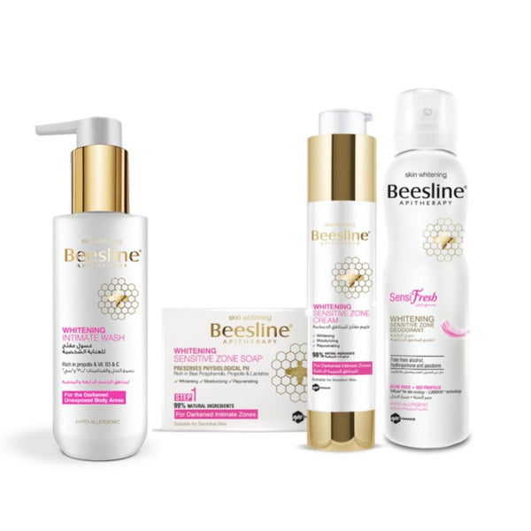 Beesline-Whitening Intimate Zone Kit-UAE | BEAUTY ON WHEELS