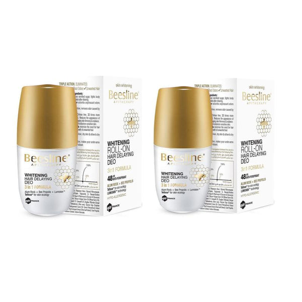 Beesline-Whitening Roll-On Hair Delaying Deo B1G1 Free-UAE | BEAUTY ON WHEELS