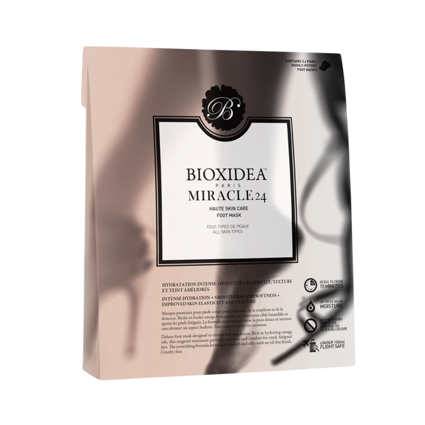 Bioxidea-Miracle 24 Foot Mask-BEAUTY ON WHEELS