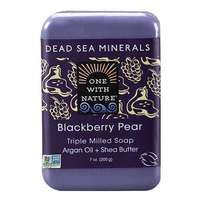 Blackberry Pear Bar Soap-One With Nature-UAE-BEAUTY ON WHEELS