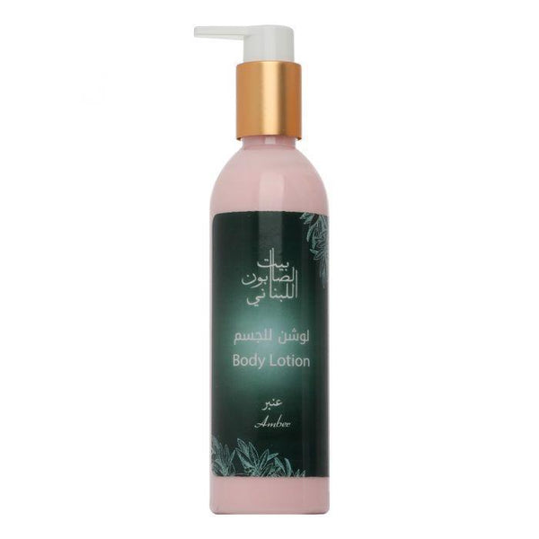 Bayt Al Saboun-Body Lotion Amber 250Ml Online UAE | BEAUTY ON WHEELS