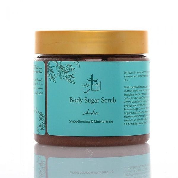 Body Sugar Scrub Amber 500G - BeautyOnWheels