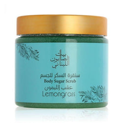 Bayt Al Saboun-Body Sugar Scrub Lemongrass 500G Online UAE | BEAUTY ON WHEELS