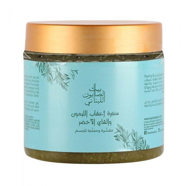 Body Sugar Scrub Lemongrass & Green Tea 500G