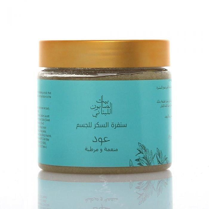 Bayt Al Saboun-Body Sugar Scrub Oud 500G Online UAE | BEAUTY ON WHEELS