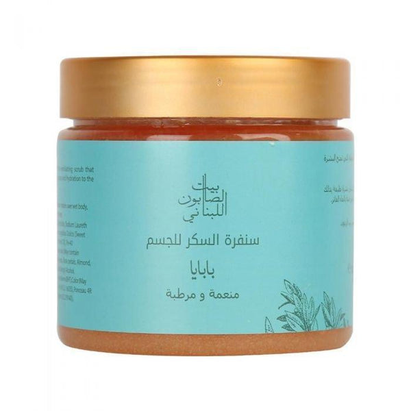 Body Sugar Scrub Papaya 500G - BeautyOnWheels